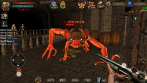 Dungeon shooter